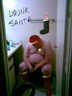 santa-drunk-on-toilet
